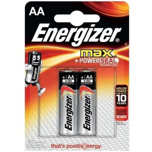 Energizer BATERIA MAX + PowerSeal AA / 2szt., AZENGUB60000013 (4450530)