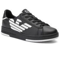 Sneakersy EA7 EMPORIO ARMANI - X8X043 XK075 A120 Black/White, w 3 rozmiarach