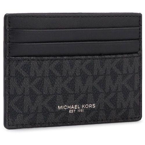 Etui na karty kredytowe MICHAEL MICHAEL KORS - Greyson 39F9LGYD2B Black