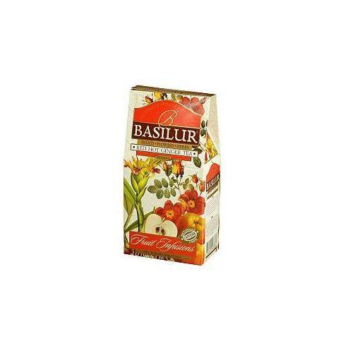 Herbata owocowa fruit infusions red hot ginger tea stożek 100 g marki Basilur