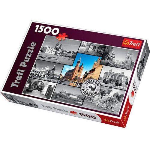 Puzzle 1500 elementów. Kraków kolaż 26126
