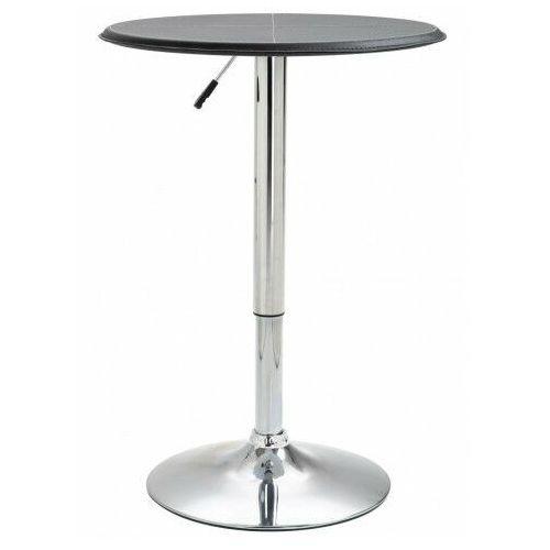 Industrialny stolik barowy z płyty MDF – Vernie, vidaxl_249668