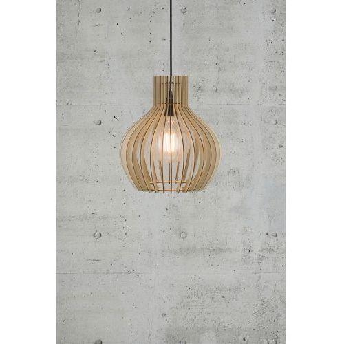 Nordlux groa lampa wisząca brązowy, 1-punktowy - nowoczesny/skandynawski - obszar wewnętrzny - groa - czas dostawy: od 2-3 tygodni (5701581368088)