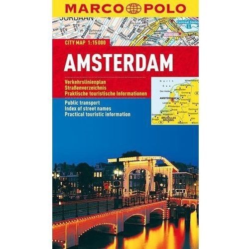 Amsterdam. City Map 1:15 000 (9783829730426)