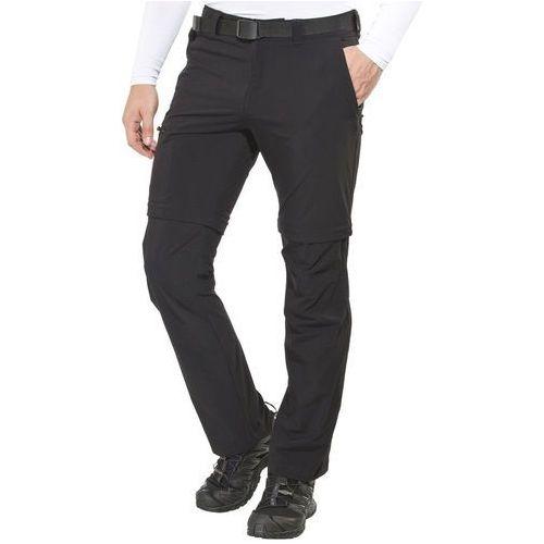 tajo 2 spodnie długie mężczyźni czarny 50 spodnie z odpinanymi nogawkami marki Maier sports