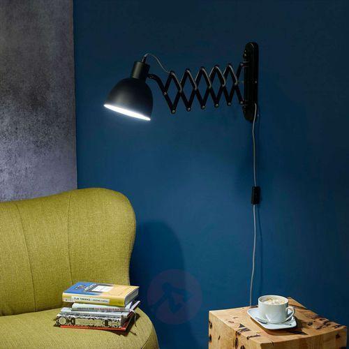 Spot-light Lampa ścienna talaro z harmonijkowym ramieniem