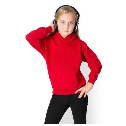 Dziecięca bluza (bez nadruku, gładka) - czerwona marki Megakoszulki