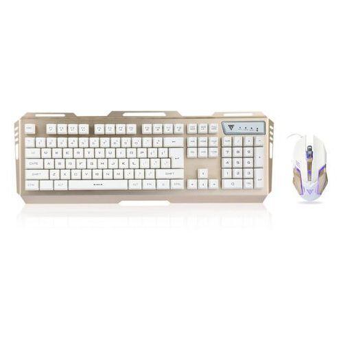 GAMEDIAS V1 Keyboard Mouse Combo with LED Backlit