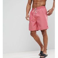 Polo Ralph Lauren Big & Tall Traveller Swim Shorts in Washed Red - Red, kolor czerwony