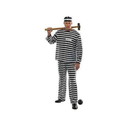 Kostium więzień - xl/plus marki Amscan