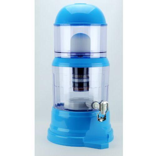 Dystrybutor - grekos Dyspenser - filtr do wody miejskiej 14l niebieski