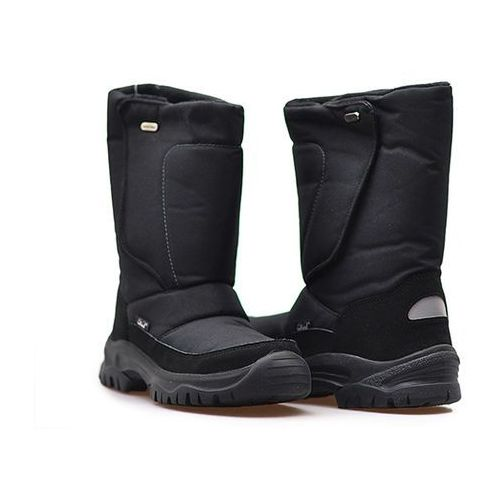 Śniegowce Raintex 270130 Czarne, kolor czarny