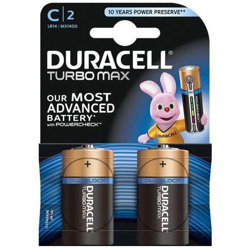 Duracell Bateria turbo max c/lr14 (2 szt.) + zamów z dostawą jutro!