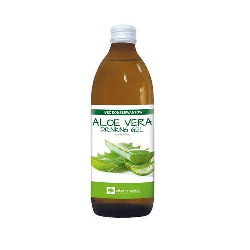 Alter medica ul. spokojna 11, 34 Aloe vera drinking gel aloes sok z aloesu z miąższem bez konserwantów 1000ml