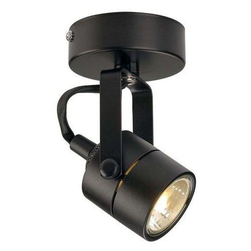 SPOT 79 230V ścienna/sufitowa, czarna, GU10, max. 50W PROMOCJA WWOS, SPOTLINE 132020