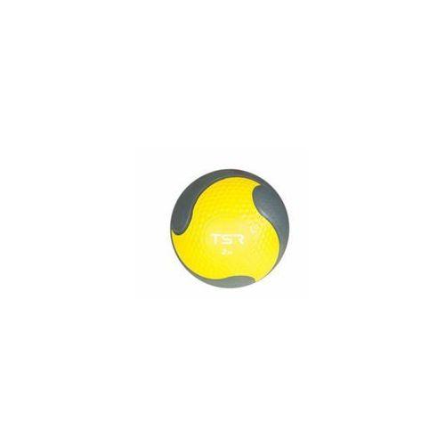 Tsr piłka lekarska kauczukowa - żółty \ 2 kg