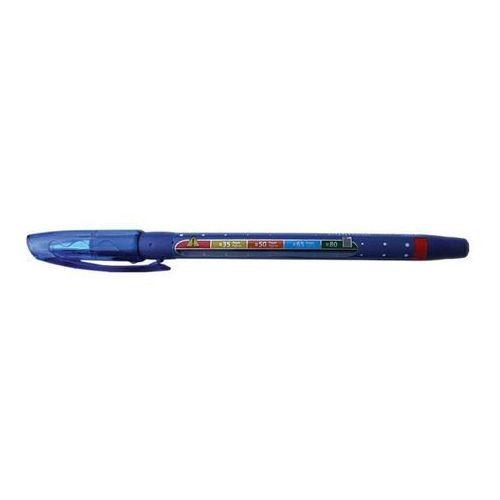 Długopis niebieski marki Stabilo