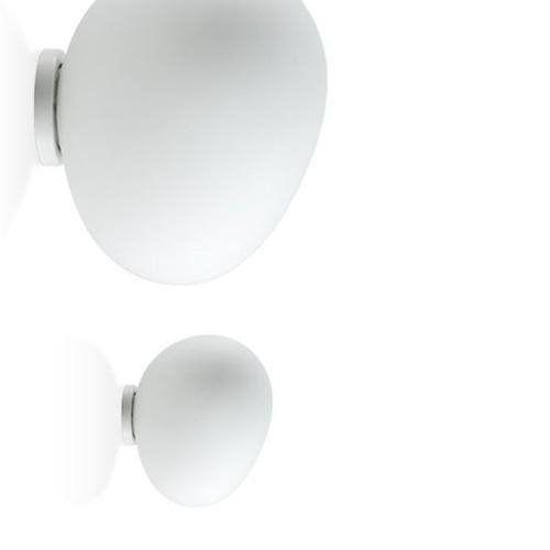 Foscarini Gregg-kinkiet metal & szklo dmuchane Ø31cm (5450534383486)