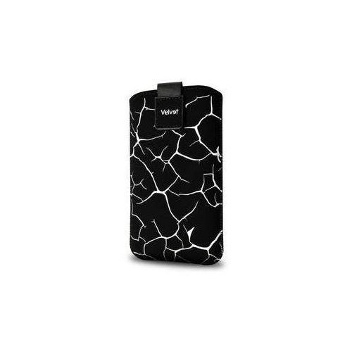 Etui na komórkę FIXED Velvet White Split, 4XL (RPVEL-050-4XL) Czarne z kategorii Futerały i pokrowce do telefonów