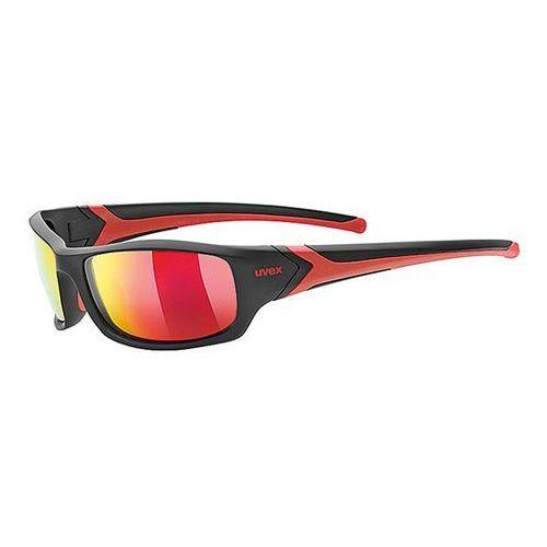 Okulary polaryzacyjne sgl 211 pola black/red marki Uvex