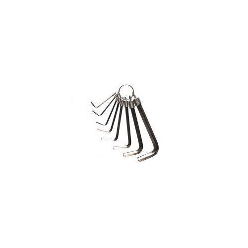 Klucz imbusowy WELDTITE CYCLO Hexagonal Key Ring Wrench 8 szt.