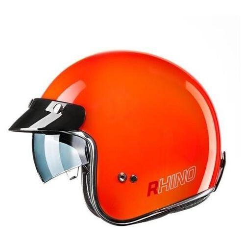 Rhino kask jet city orange fluo