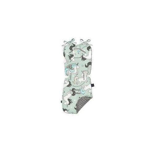 La millou Wk�adka do w�zka stroller pad (unicorn rainbow knight grey by maja bohosiewicz)