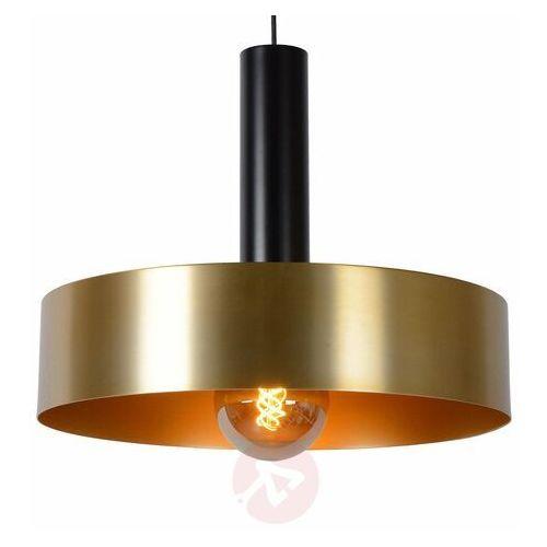Lucide Giada 30472/50/02 Lampa wisząca zwis 1x60W E27 satynowy mosiądz/czarny (5411212302489)