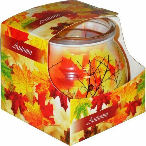 Świeca zapachowa w szklance powlekanej Miral Autumn
