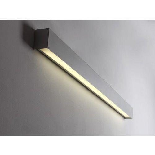 Customform Lampa ścienna line wall led l - biały