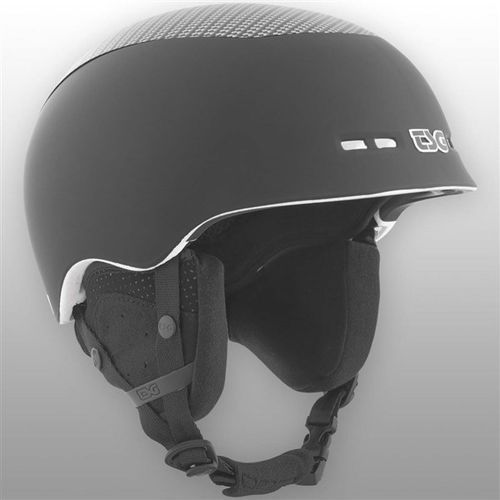 kask TSG - konik special makeup flat black-carbon (253) rozmiar: L/XL