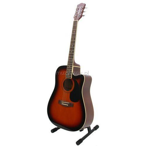 rd12ce sb gitara elektroakustyczna western/dreadnought marki Richwood