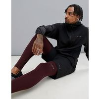 ASOS 4505 running tights with quick dry in burgundy - Navy