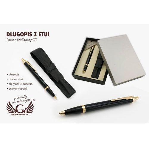 Długopis parker im czarny gt z etui - par064-pt7 marki Grawernia.pl - grawerowanie i wycinanie laserem