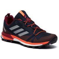 Buty adidas - Terrex Skychaser Lt G26458 Legink/Grethr/Actora, kolor czerwony