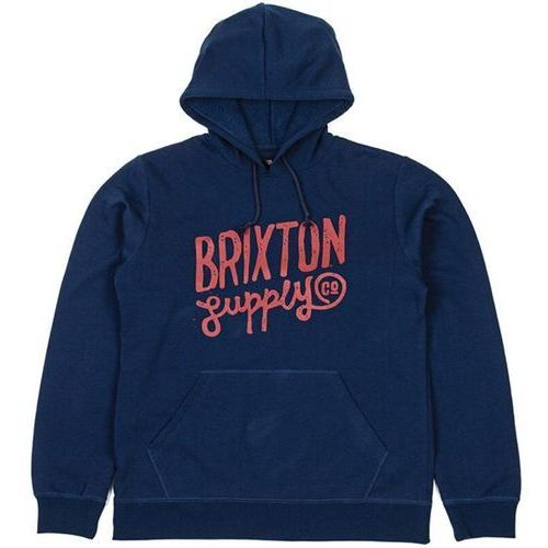 Brixton Bluza - franklin hooded fleece navy (0803) rozmiar: m