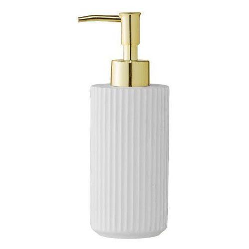 Porcelanowy dozownik do mydła, biały - Bloomingville