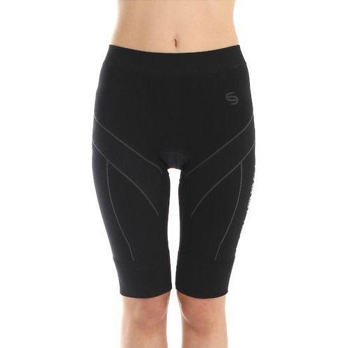 Brubeck LB00130 Spodnie rowerowe damskie standard czarne (2010000426302)