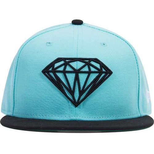 czapka z daszkiem DIAMOND - Brilliant Fitted Diamond Blue (DBLU) rozmiar: 7 1/2
