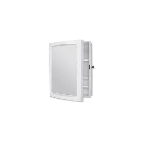 szafka lustrzana 370x465mm, biała 94002 marki Bisk