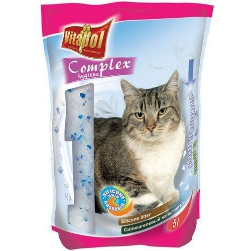 Vitapol  piasek silikonowy dla kota bezzapachowy 5l [4862] (5904479048622)