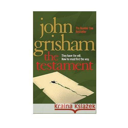 The Testament. Das Testament, englische Ausgabe, książka z kategorii Literatura obcojęzyczna