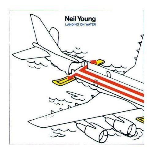 Universal music / geffen Landing on water - neil young (płyta cd) (0720642410929)