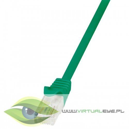 LogiLink Patch Cable CAT.5e U/UTP, 5m, zielony (4052792025842)