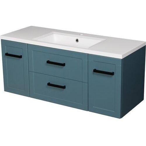 Niebieska szafka z umywalką 120/46 seria Meiva N Gante ✖️AUTORYZOWANY DYSTRYBUTOR✖️, kolor niebieski