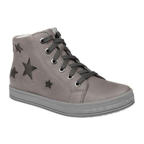 Trzewiki nieocieplane buty KORNECKI 3905 skórzane - Multikolor ||Popielaty ||Szary, kolor wielokolorowy