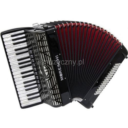 agile 37/96-f 37/4/9 96/5/5 musette akordeon (czarny) marki Moreschi