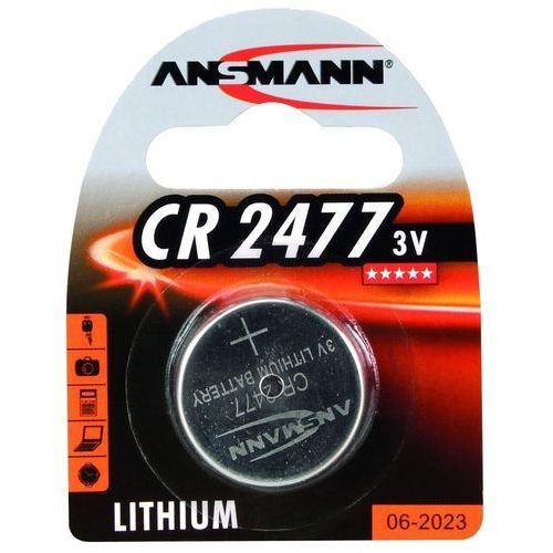 Ansmann Bateria guzikowa, 3V, CR 2477 (1516-0010) Darmowy odbiór w 21 miastach!