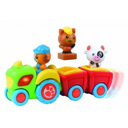 Traktorek z farmy Smily play - Happy Kid Toy Group (5905375819996)