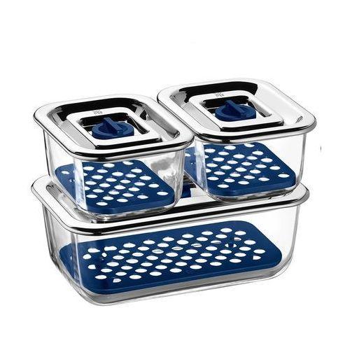 Wmf Pojemnik szklany do przechowywania top serve w zestawie 3 szt. (4000530659927)